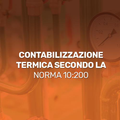 Contabilizzazione-termica