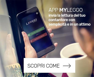 App myleggo lettura contatore